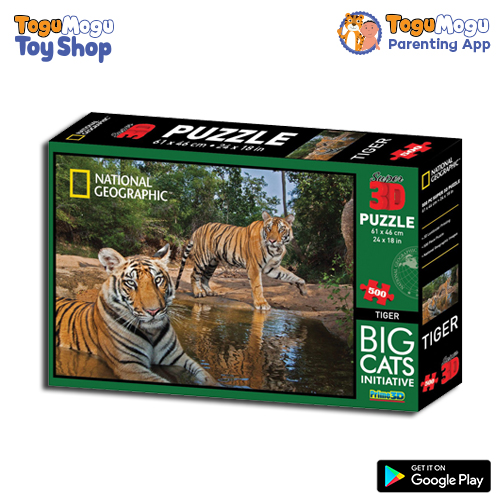 National Geographic 10023 Tiger 3D Puzzle