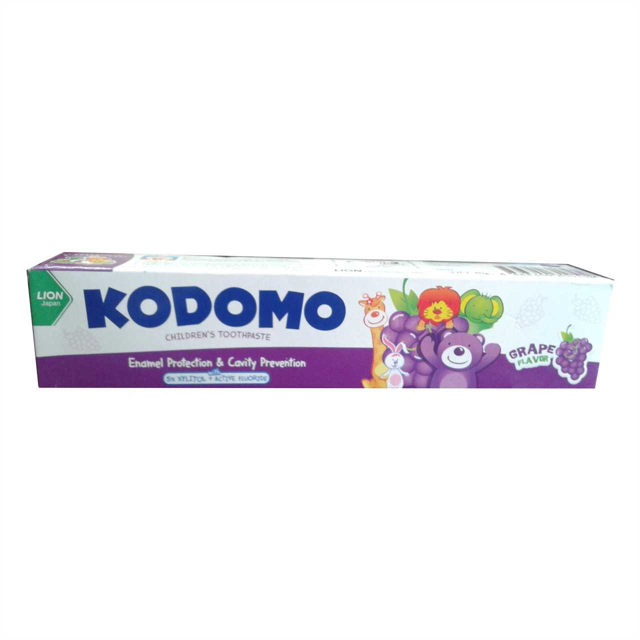 Kodomo Baby Toothpaste(GRAPE) 80gm