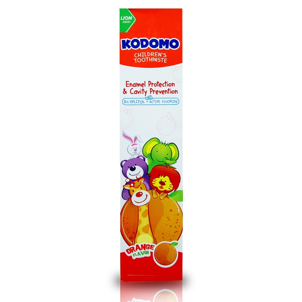 Kodomo Baby Healthy Toothpaste (ORANGE) 80 GM