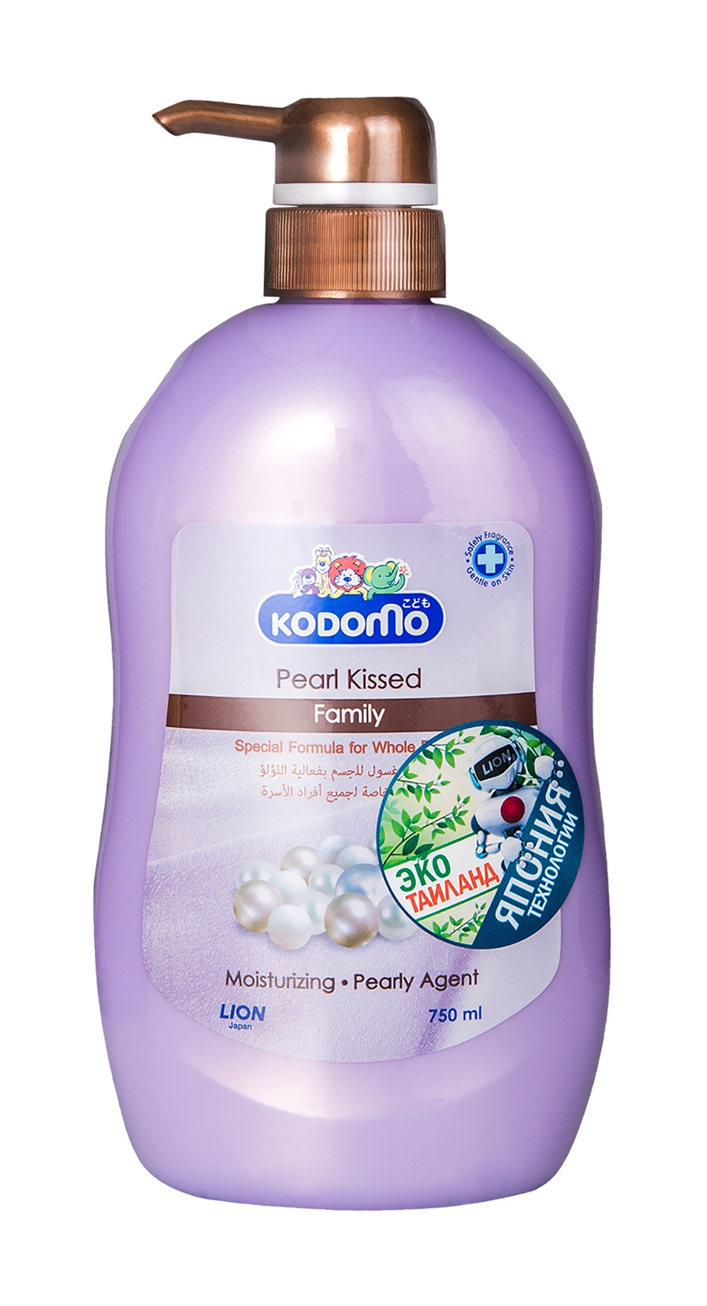 Kodomo baby pearl kissed bath family 750 ml