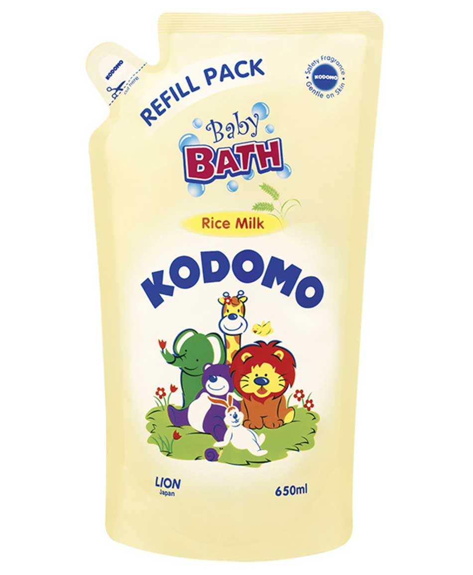Kodomo Baby Bath Rice Milk Refill Pack 650ml