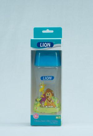 LION WIDE NECK FEEDER 8 OZ 250 ML (BPA FREE) 1 PC BOX