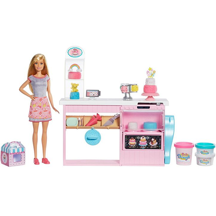 BARBIE Cake Decorating Playset-GFP59
