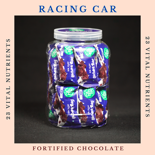 Hashi Khushi Milk Chocolate Racing Car