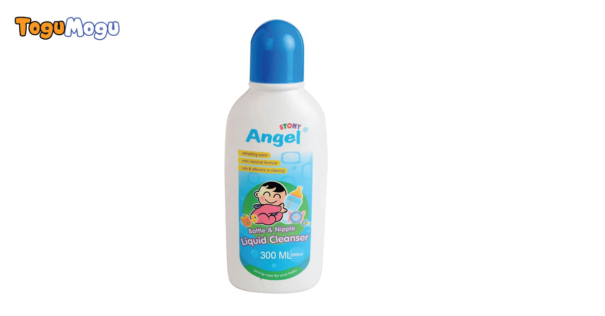 Angel Stony Bottle and Nipple Liquid Cleanser 500 ml