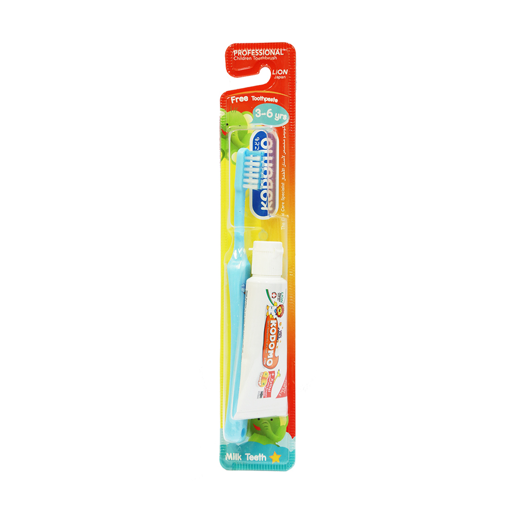 Kodomo Dental Kids Set (3-6 Years)