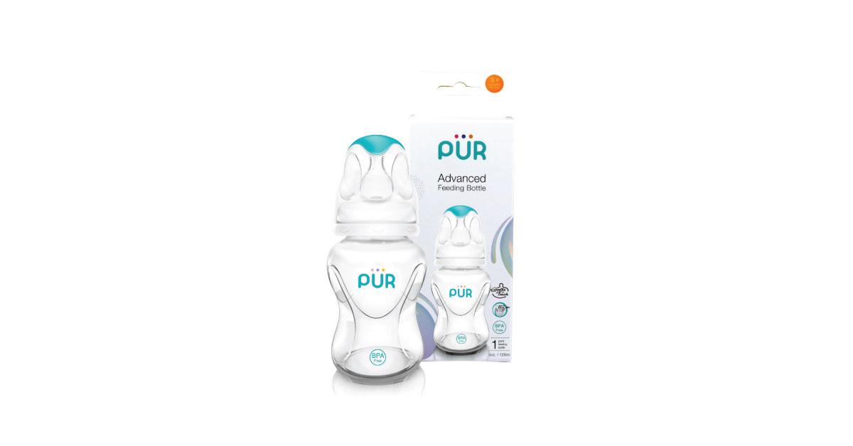 Pur Advanced Slim Neck Bottle 4 oz/125 ml. (1801)