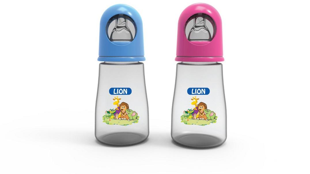 LION STANDARD FEEDER 4 OZ 125 ML (BPA FREE) 1 PC BOX