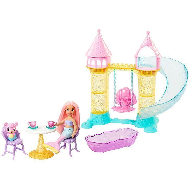BARBIE Dreamtopia Chelsea Mermaid Playground-FXT20