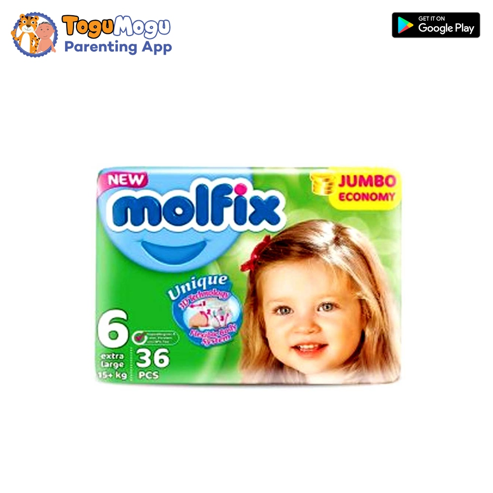 MOLFIX Belt Diaper JUMBO Extra Large 15+kg 36 pcs