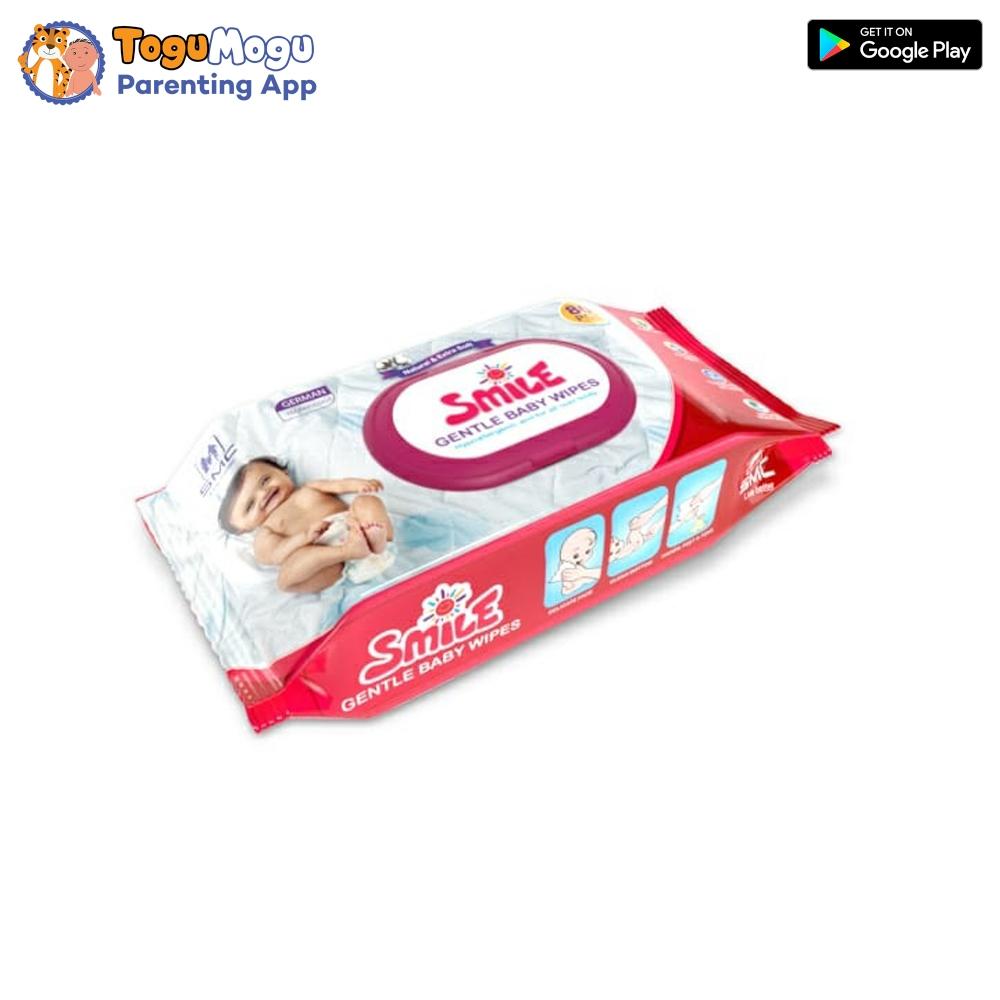 SMC Smile Baby Wipes 80 pcs