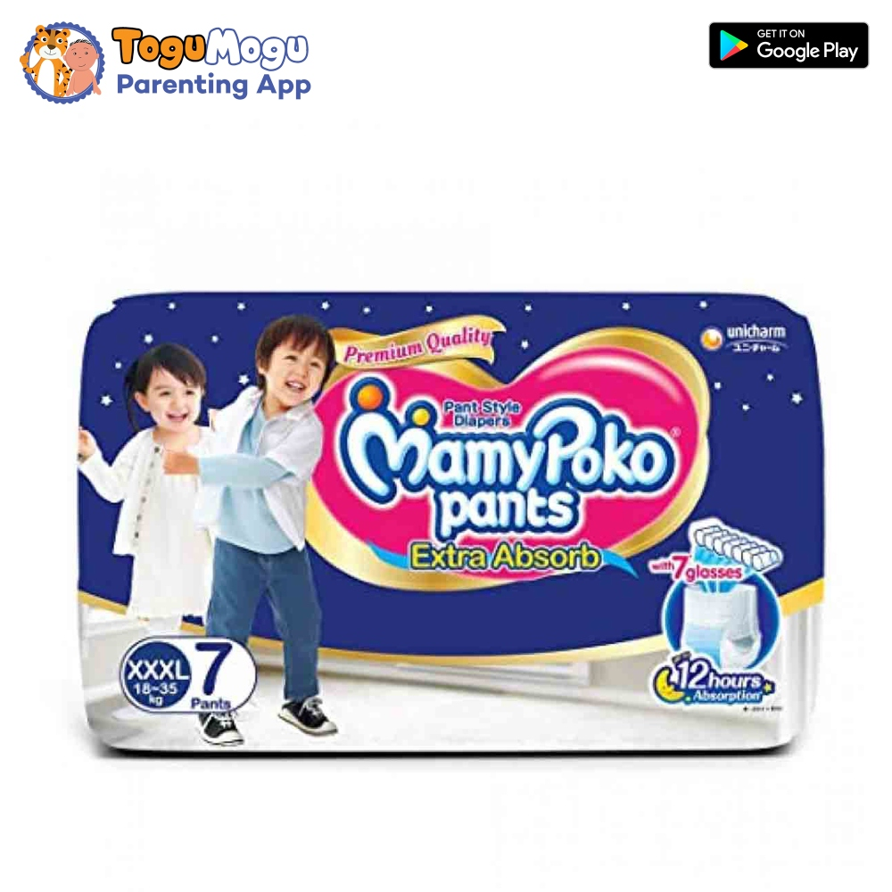 MamyPoko Pants XXXL-07 Pcs(18-35kg)