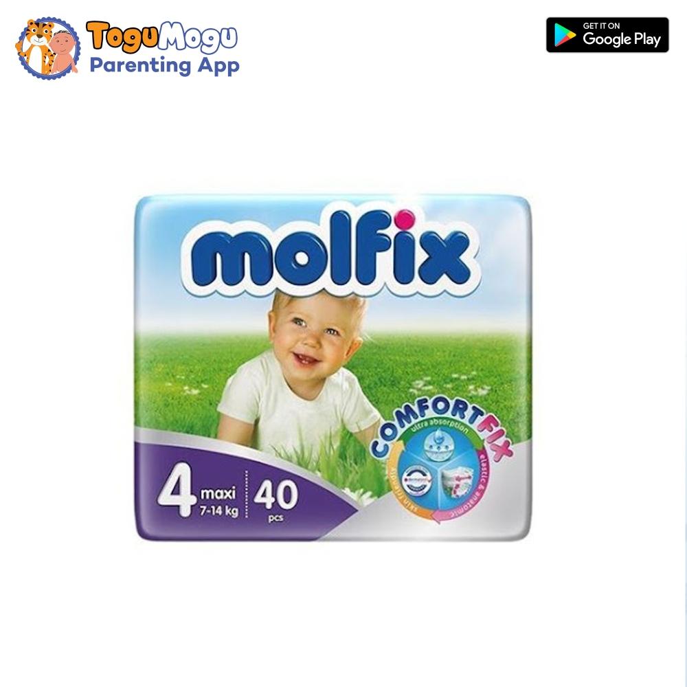 MOLFIX Belt Diaper TWIN Maxi 7-14kg 40 pcs