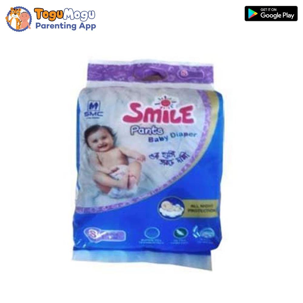 SMC Smile Baby Diaper Pant 4-8 kg (S) 5 Pieces