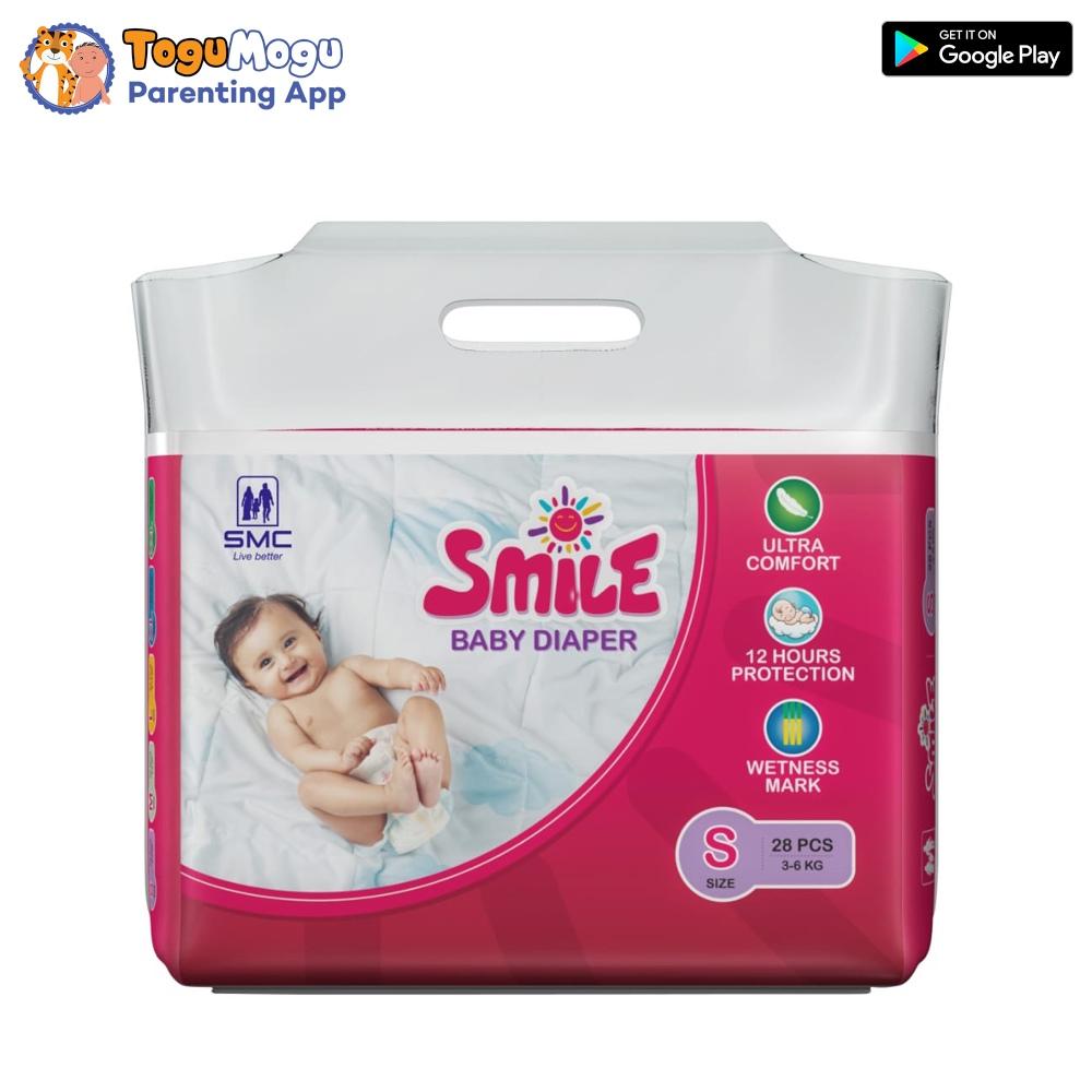 SMC Smile Baby Diaper Belt 3-6 kg S 28 pcs
