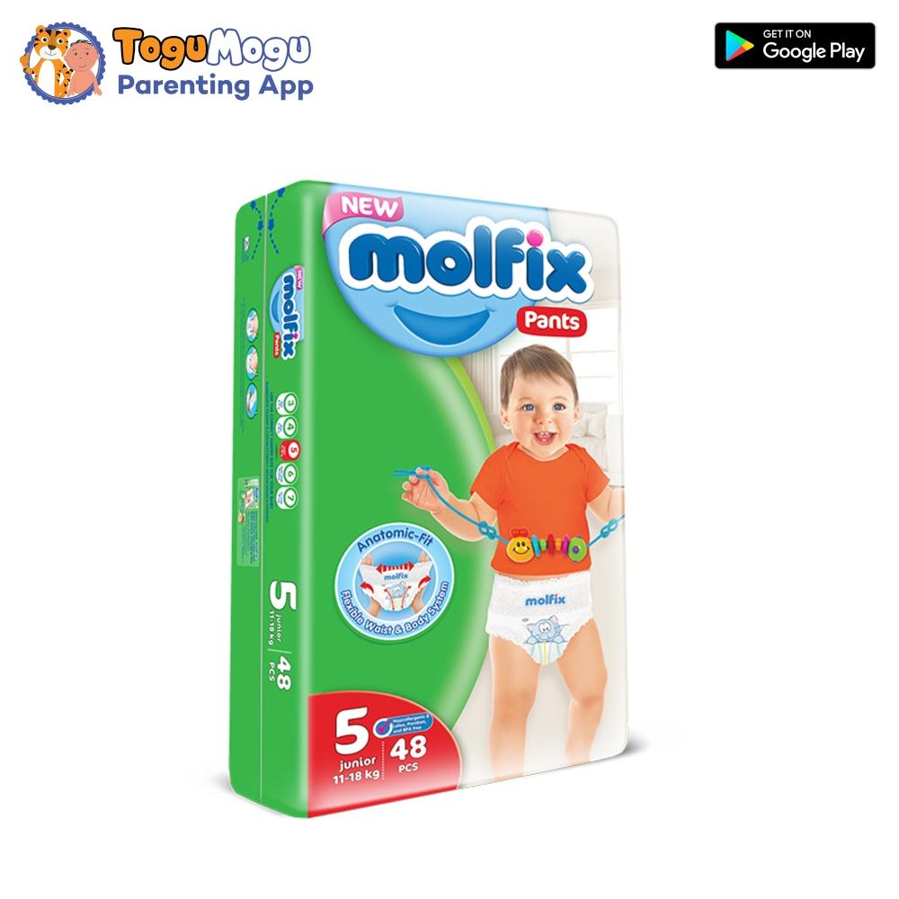 MOLFIX Pants Diaper JUMBO Extra Large 11-18kg 48pcs