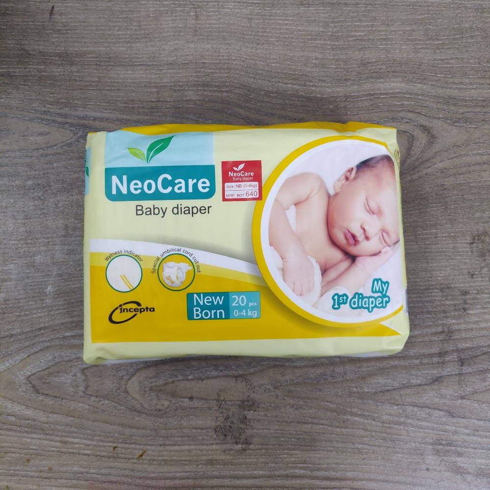 NeoCare New Born Diaper 0-4 kg 20 pc