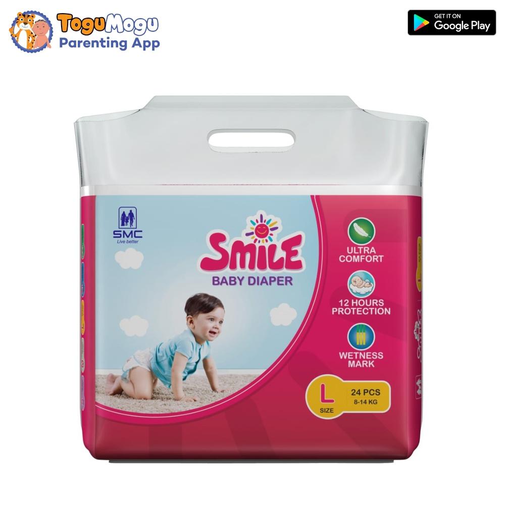 SMC Smile Baby Diaper Belt 8-14 Kg L 24 pcs