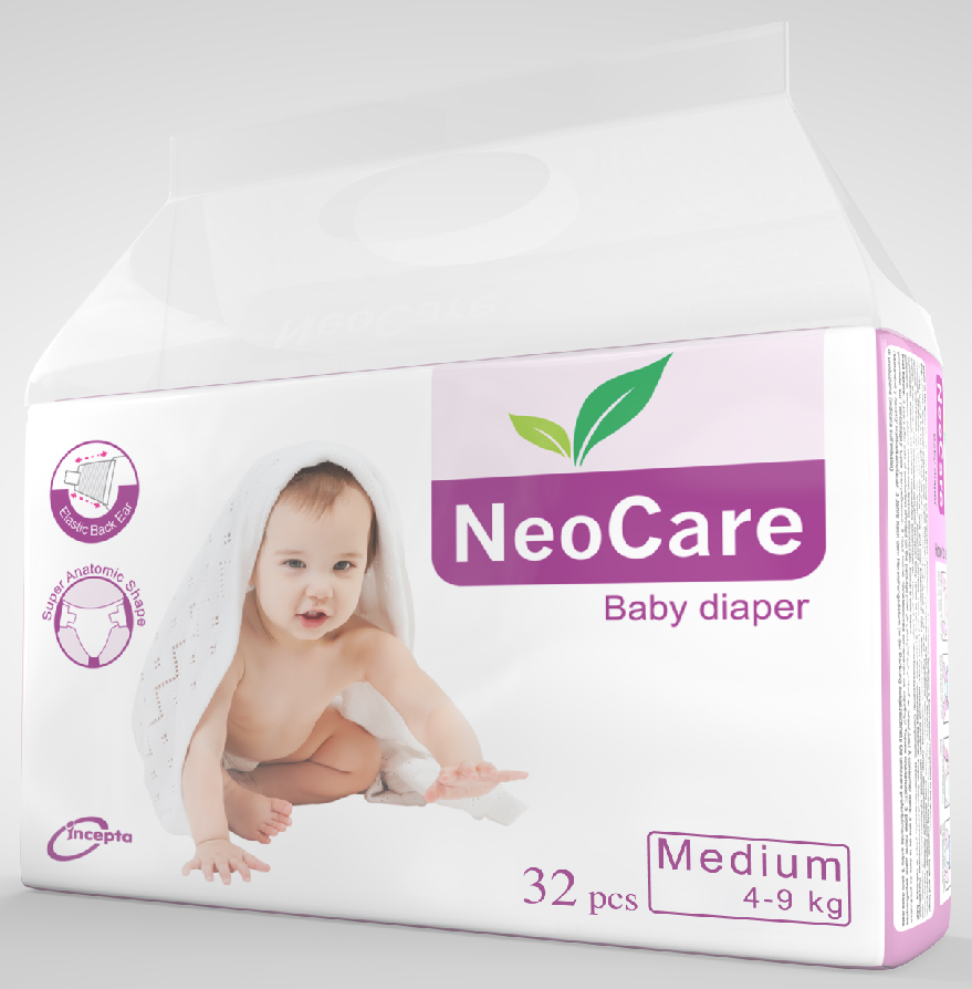 Neocare Medium Belt 4-9 Kg 32 pcs