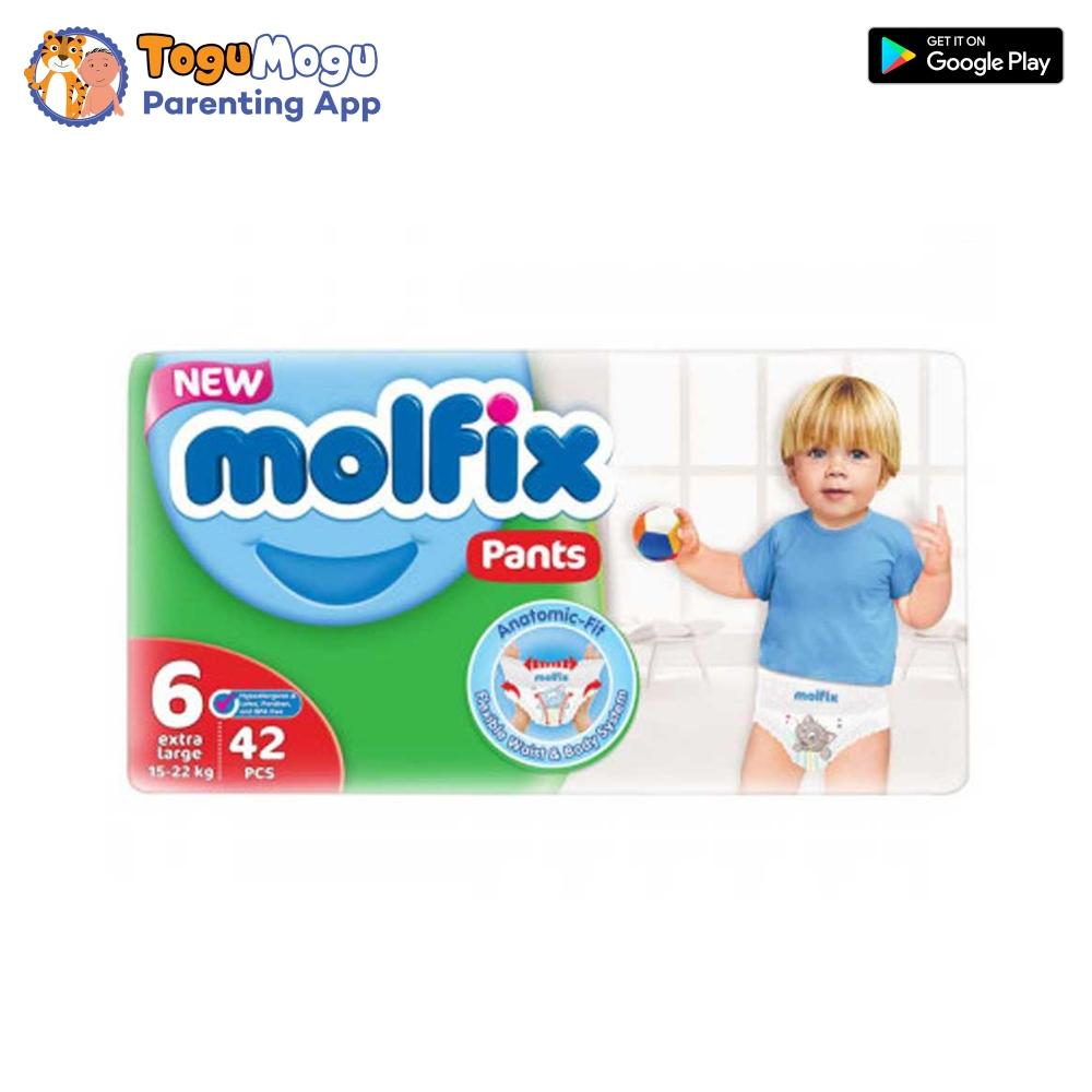 MOLFIX Pants Diaper JUMBO XX Large 15-22kg 42 pcs