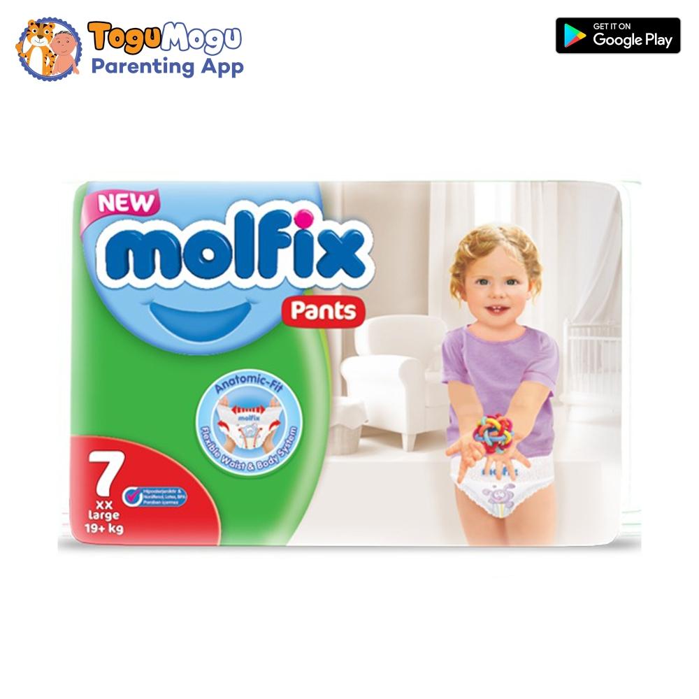MOLFIX Pants Diaper SUPER ADVANCE XX Large 19+kg 36 pcs