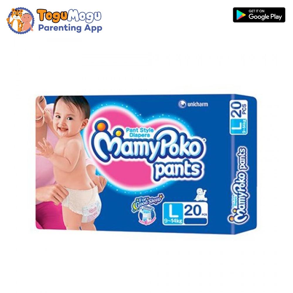 MamyPoko Pants L-20 Pcs(9-14kg)