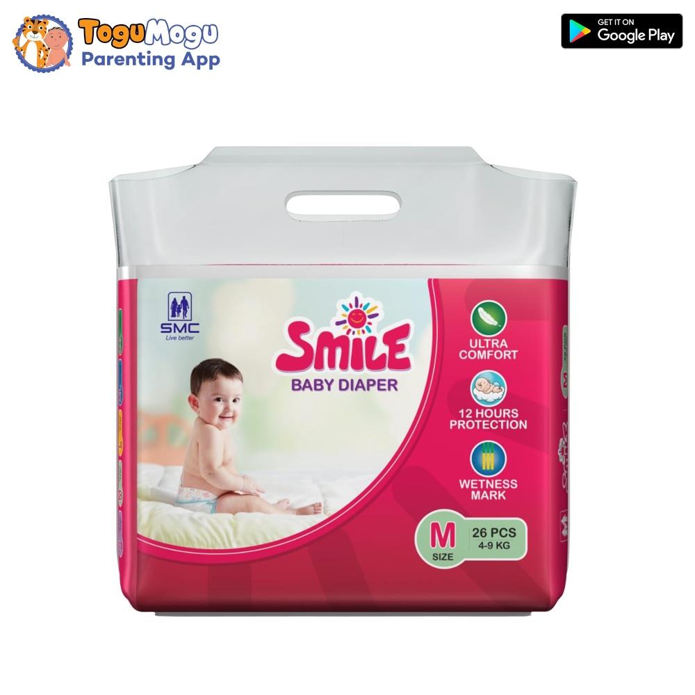 SMC Smile Baby Diaper Belt 4-9 kg M 26 pcs