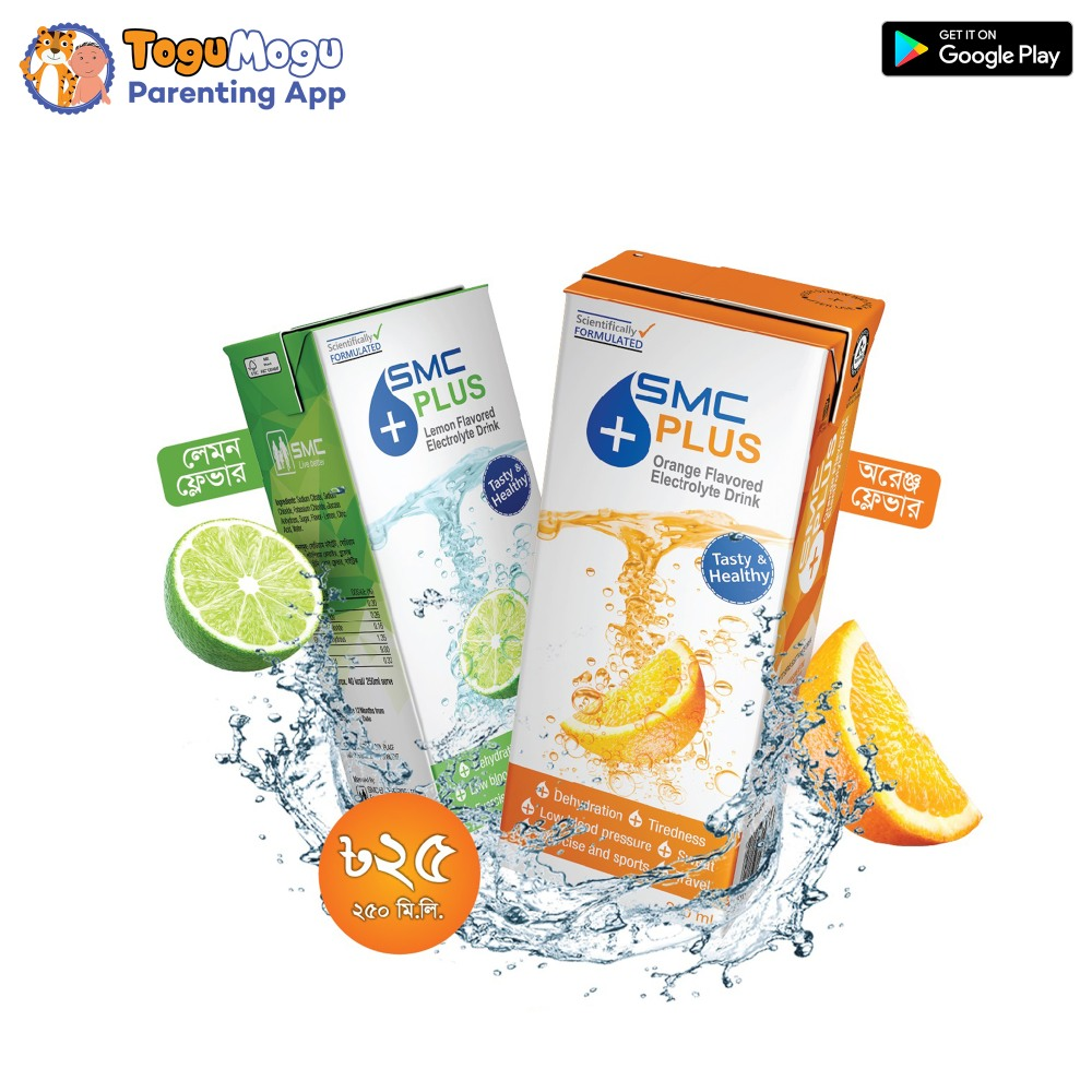 SMC PLUS Orange Flavored & Lemon Flavored Electrolyte Drink 250ml