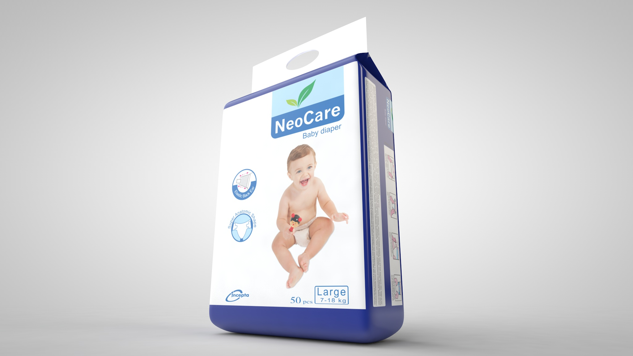 Neocare Large Belt 7-18 Kg 50 pcs