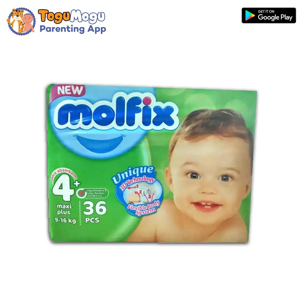 MOLFIX Belt Diaper TWIN Maxi Plus 9-16kg 36 pcs