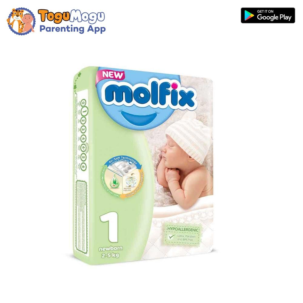MOLFIX Belt Diaper Belt TWIN New Born 2-5kg 44 pcs