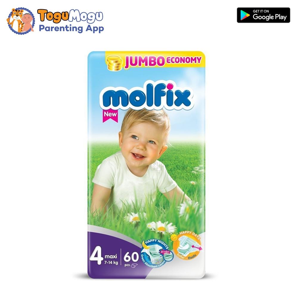 MOLFIX Belt Diaper JUMBO Maxi 7-14kg 60 pcs