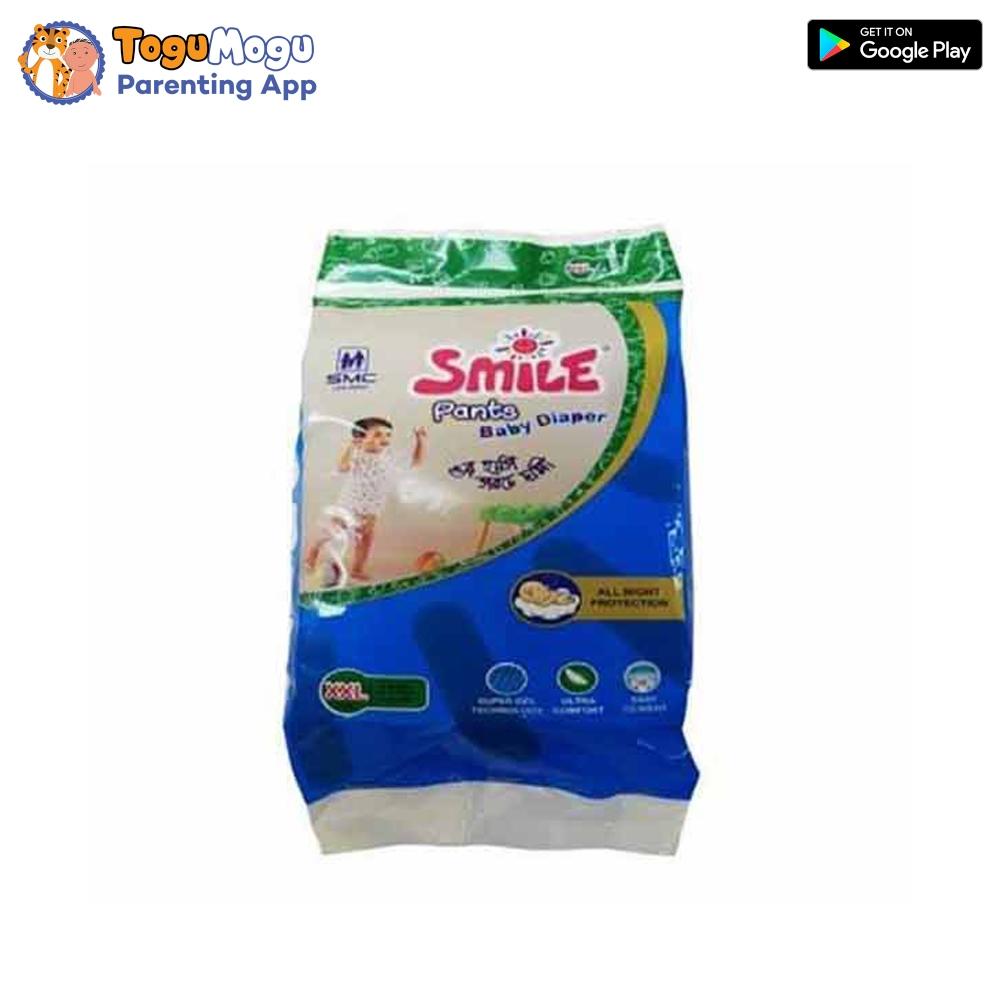 SMC Smile Baby Diaper Pants XL (12-17)Kg  4 pcs