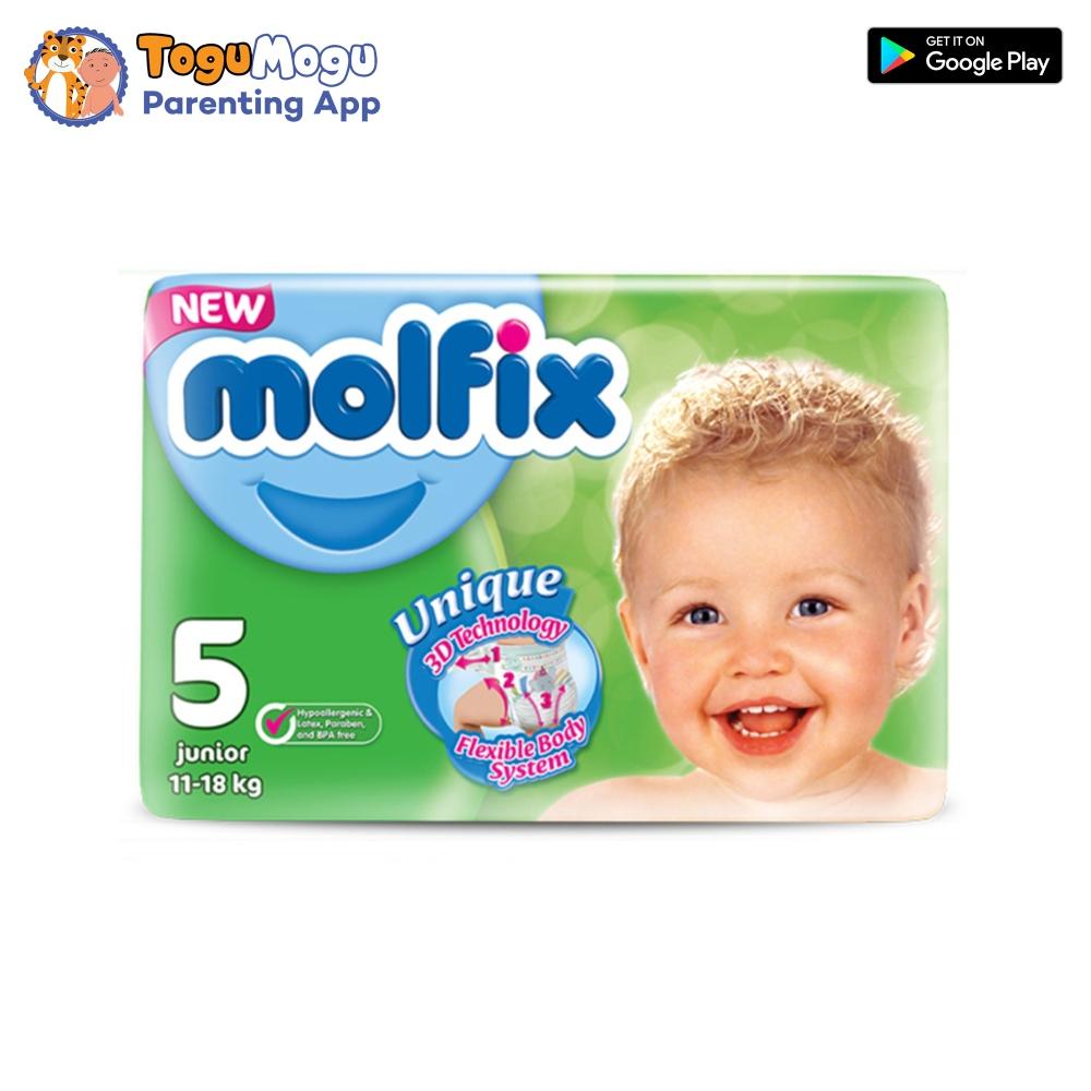 MOLFIX Belt Diaper GIANT Junior 11-18kg 58 pcs
