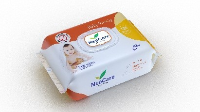 Neocare Baby Wipes - 120 wipes