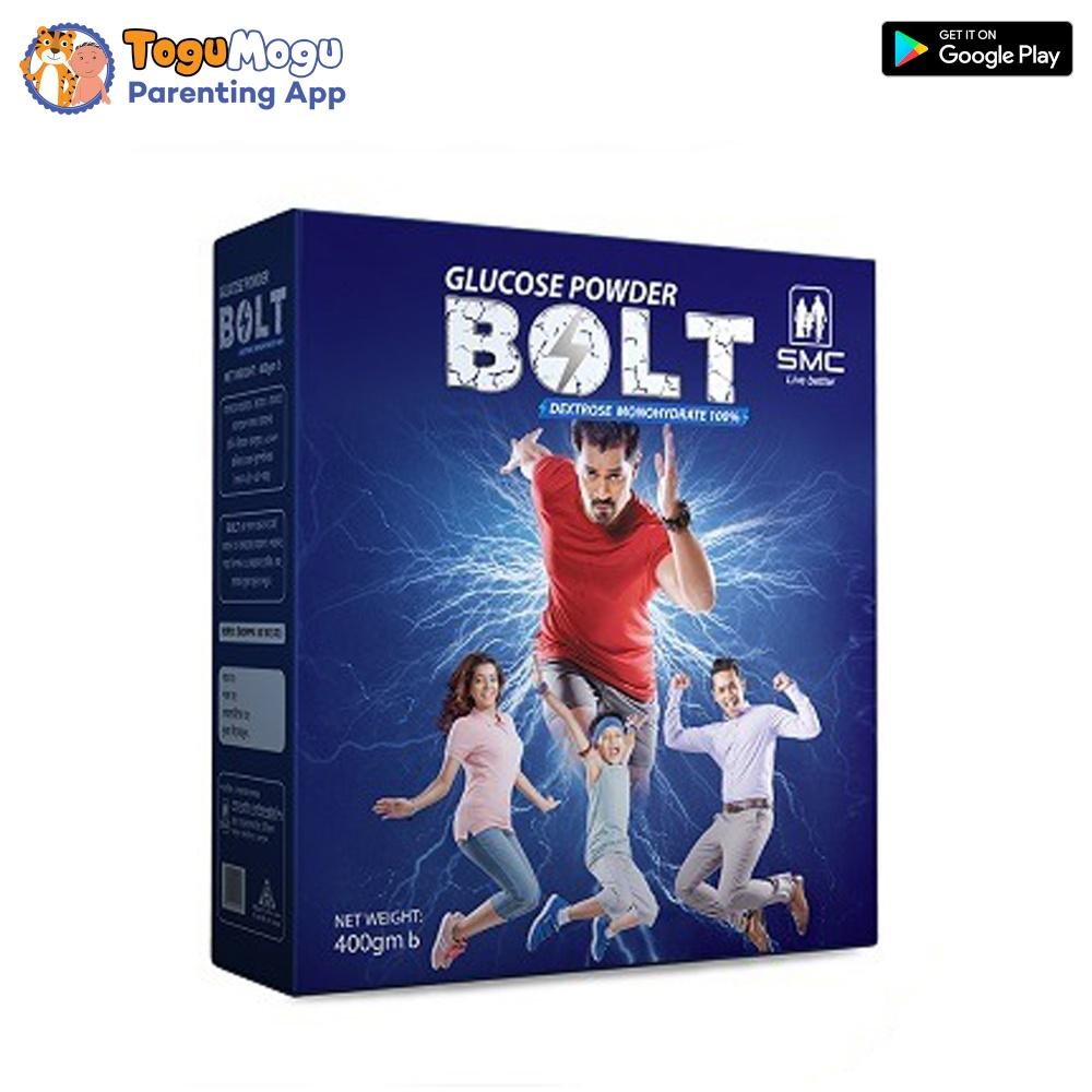 SMC Bolt Glucose Powder - 400gm Box