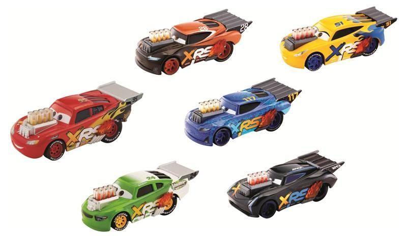 CARS XRS DRAG RACING SINGLES ASST-GFV33