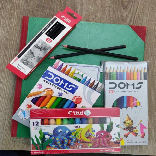 Art Materials For Step-1