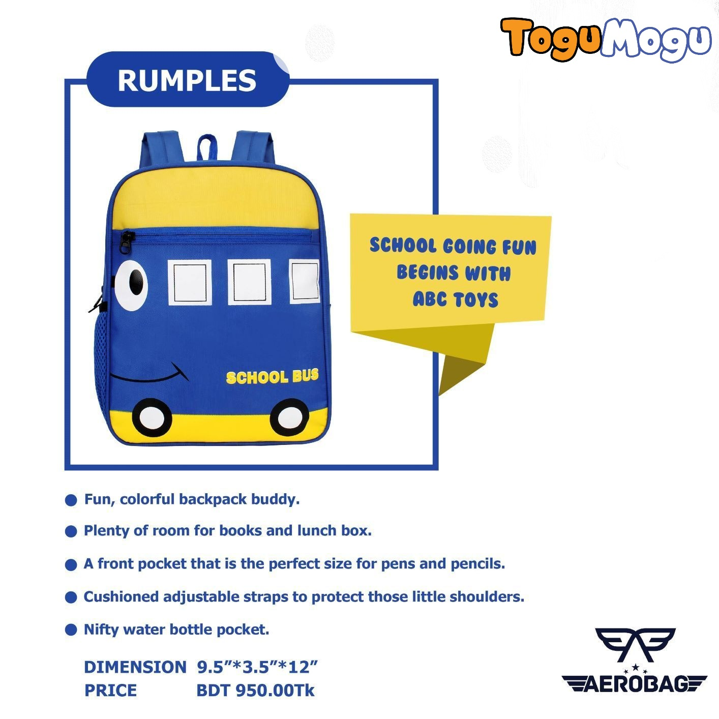 AEROBAG AER001 Rumples Bus