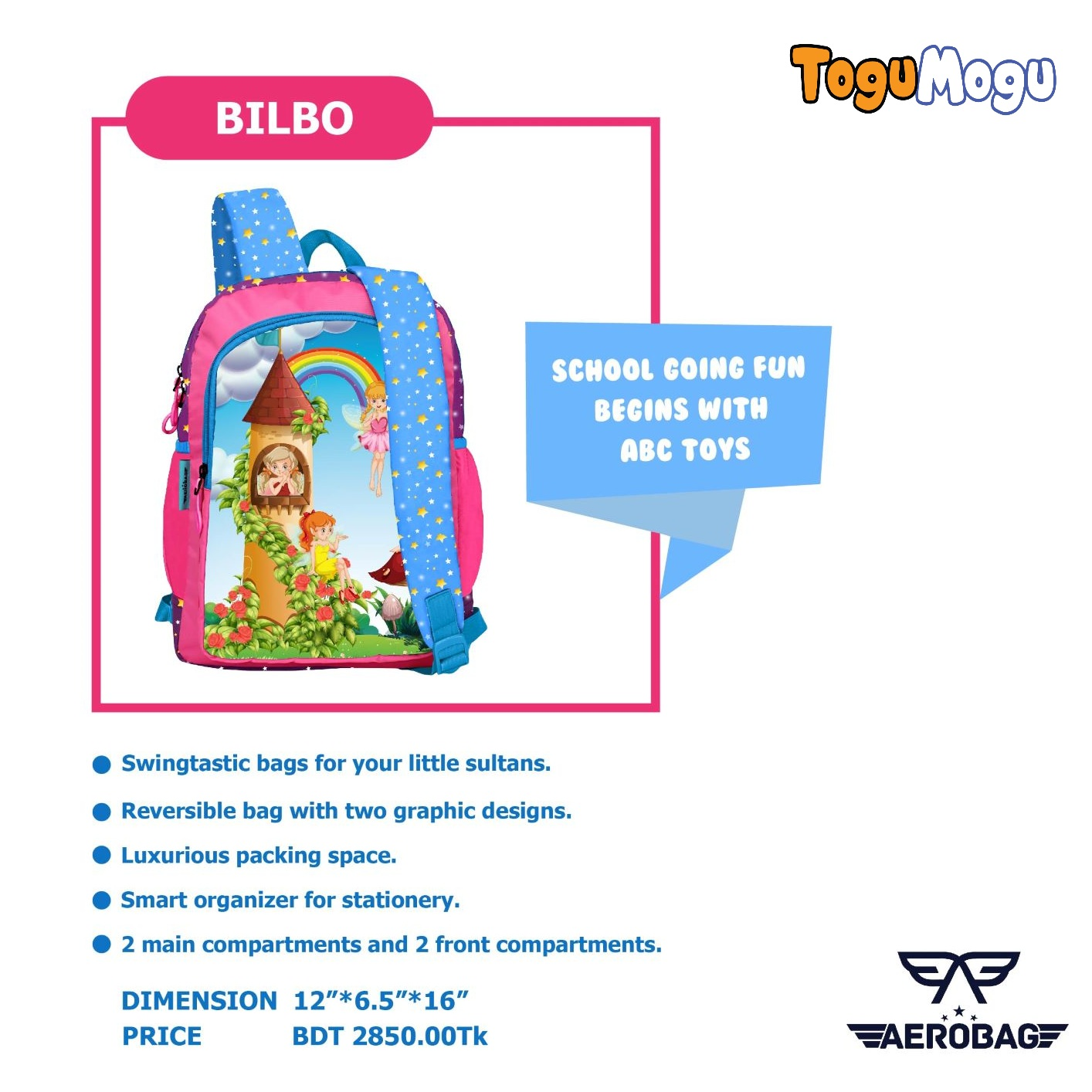 AEROBAG AER026 Bilbo Kitty