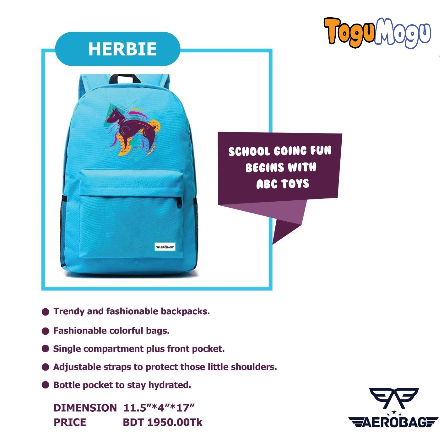 AEROBAG AER050 Herbie Animal
