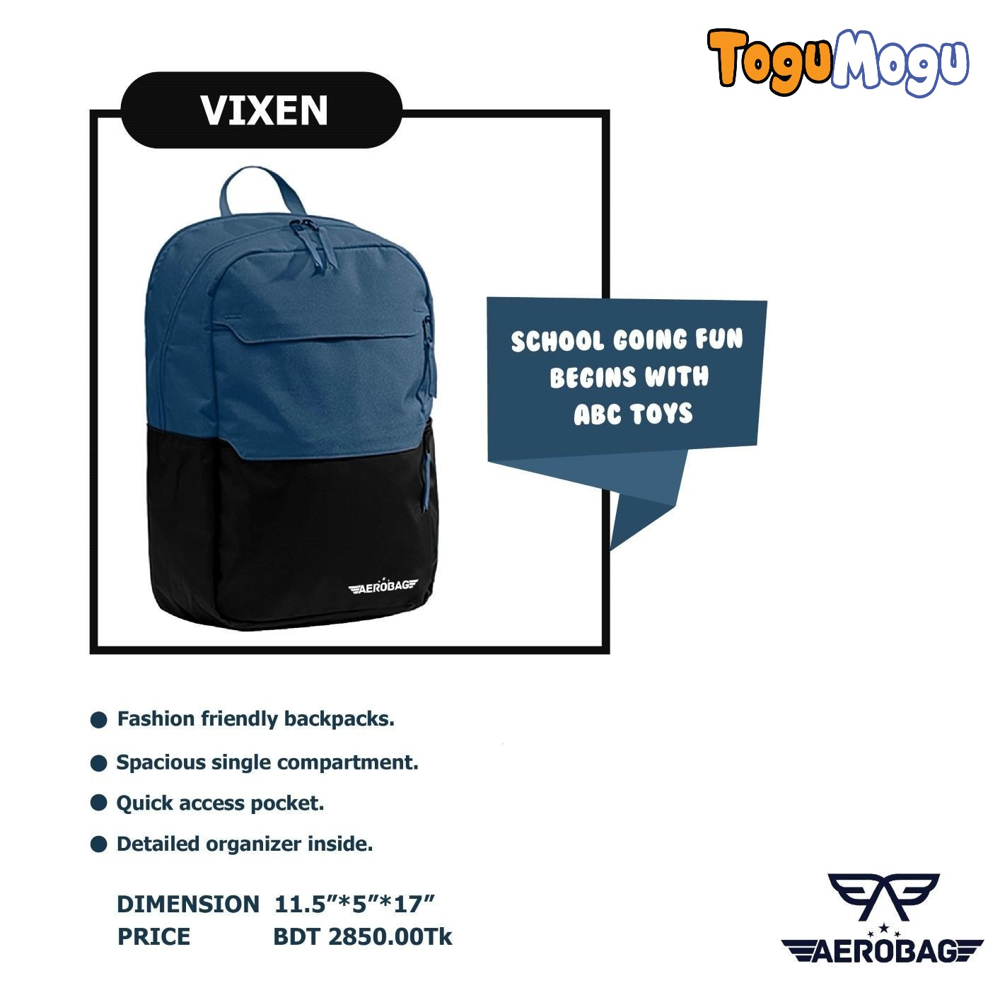 AEROBAG AER081 Vixen Blue