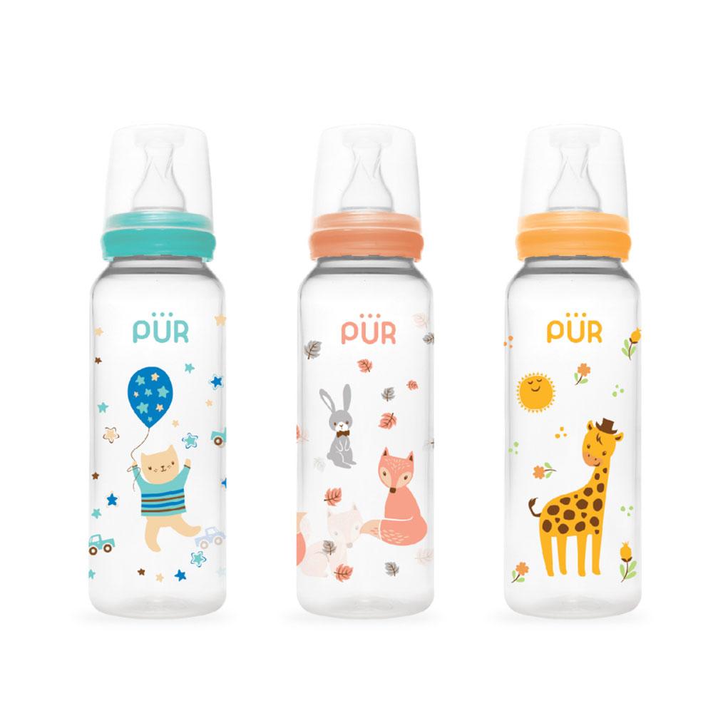 Pur Classic Round Bottle 8 oz/250ml. (9013)