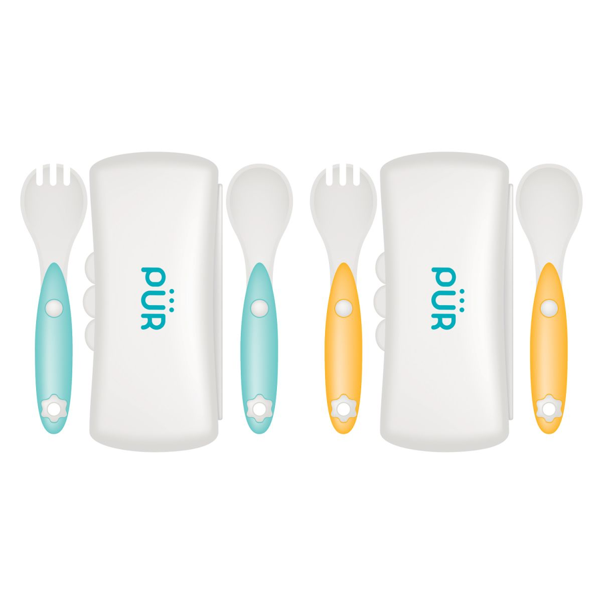 Pur Cutlery set with travel case (5402)