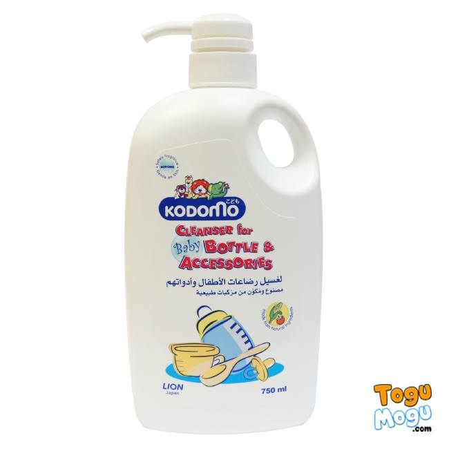 Kodomo Cleanser Baby Bottle and Accessories, 750ml