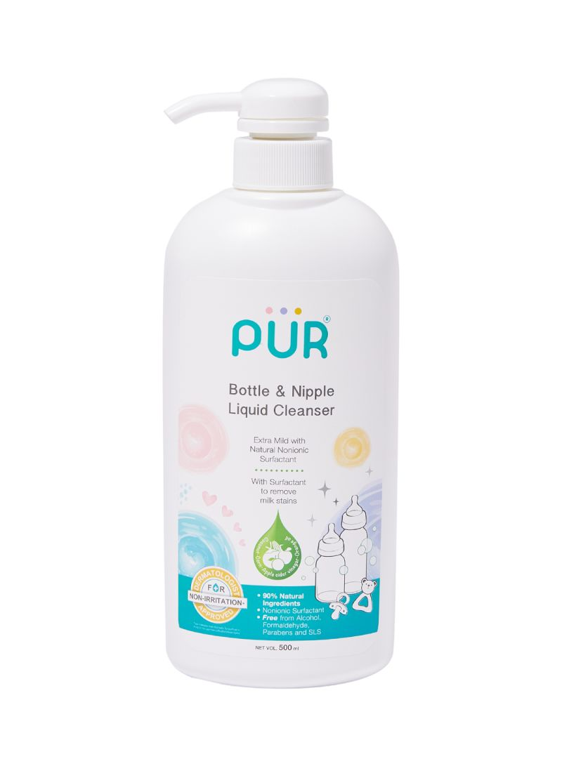 Pur Natural Bottle & Nipple Liquid Cleanser 500ml (2401)