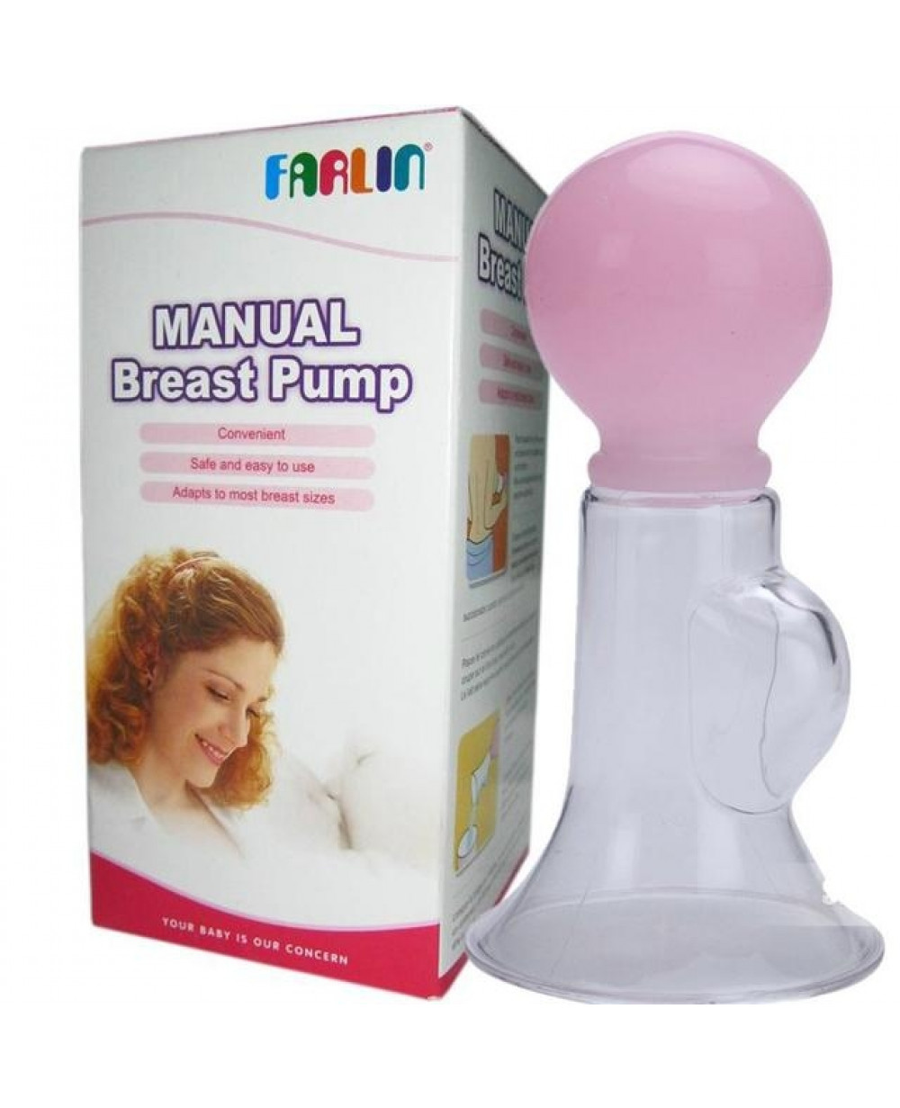 Farlin Manual Plastic Breast Pump (BF-638P)