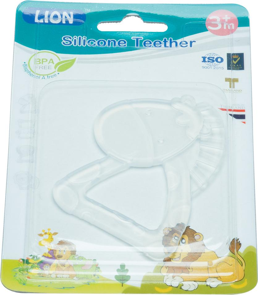 LION SILICONE TEETHER