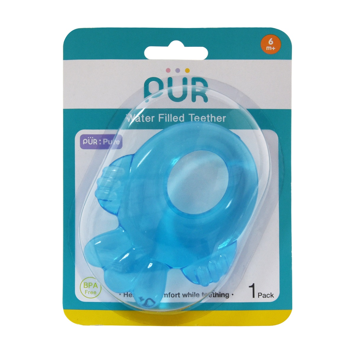 Pur Water Filled Teether Fish+Bear+Seahorse (8003)