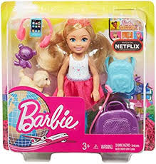 Barbie FWV20 Travel Chelsea Doll